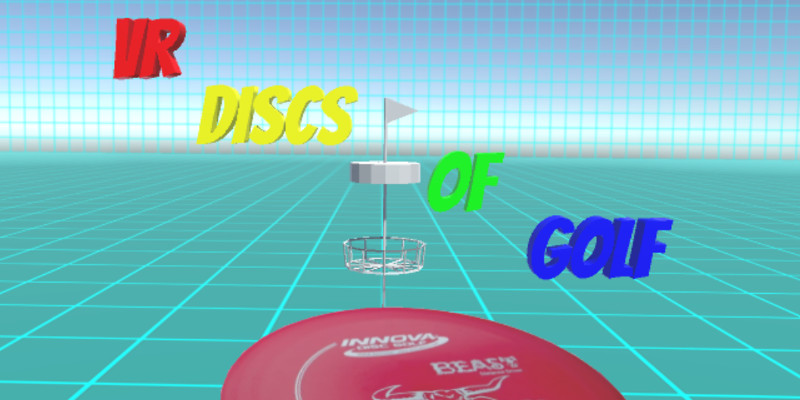 VR Discs Of Golf Title Screen